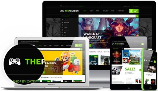 The Polygon Premium WordPress Tema Warez İndir