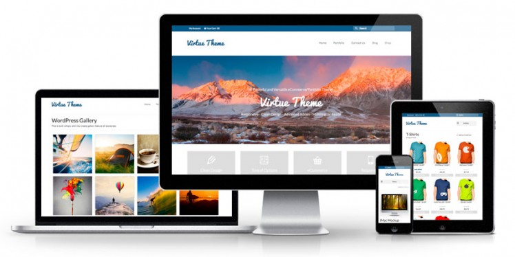 Virtue Premium WordPress Alışveriş Teması